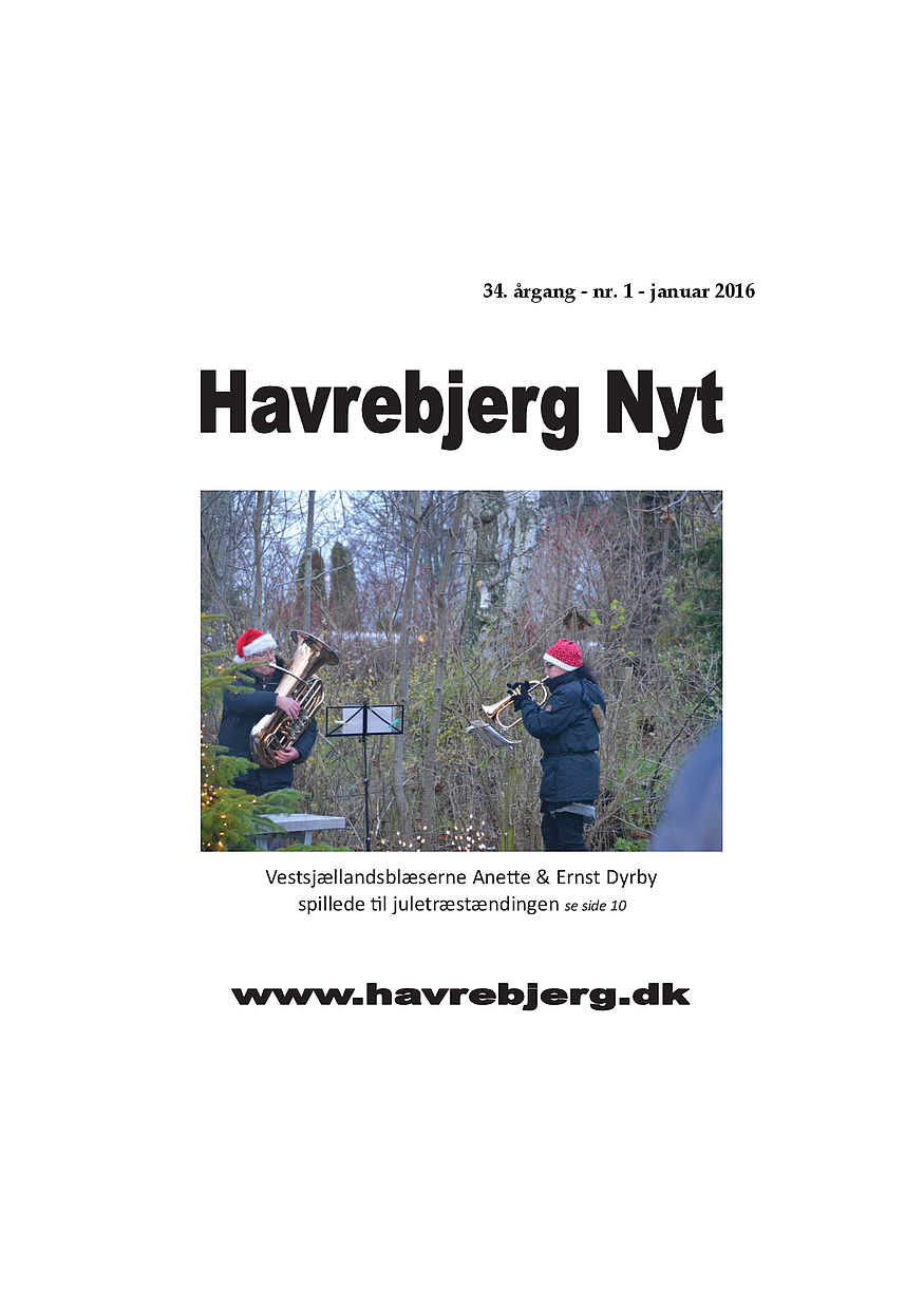 Havrebjerg Nyt 1 - 2016
