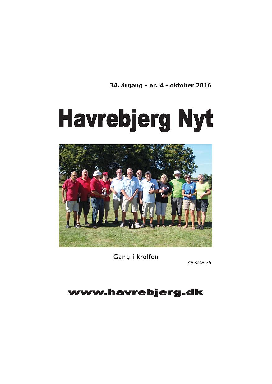 Havrebjerg Nyt 4 - 2016