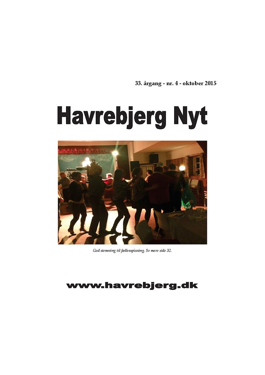 Havrebjerg Nyt 4 - 2015