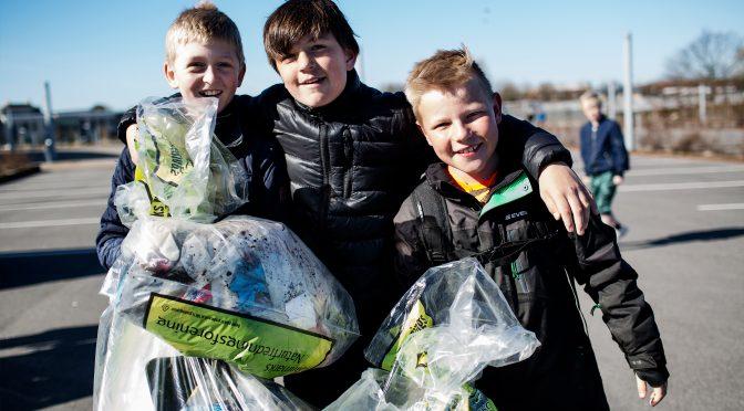 Forårs rengøring og fælles affaldsindsamling