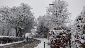 Krænkerupvej i sne