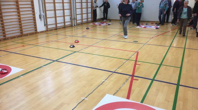 Fuldt hus til DAIs første Kurlingstævne i Region Sjælland som foregik i Havrebjerg!