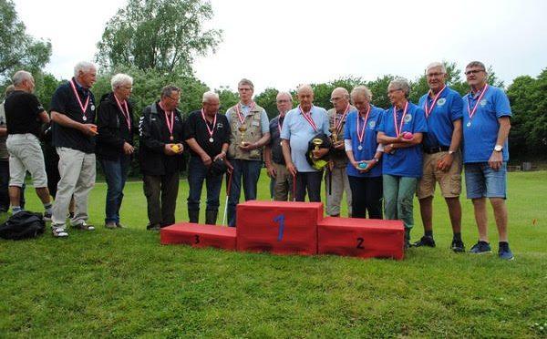 Havrebjergs krolf spillere 18 i alt var en tur i Kolding og deltog i Landsmesterskaberne i krolf under DAi !
