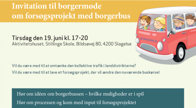Borgermøde om Borgerbus