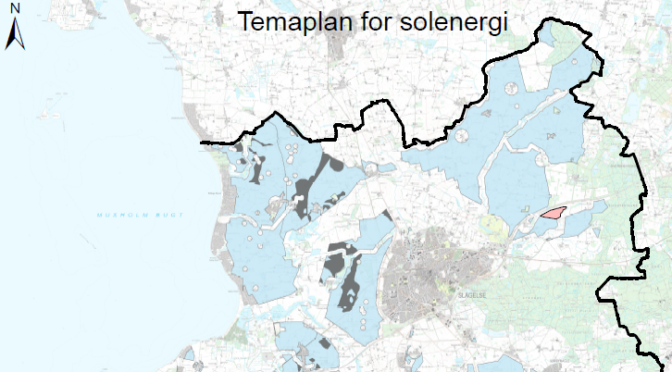 Temaplan for solenergi