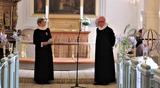 Indsættelse af ny sognepræst!